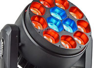 Intelligent 12 X 40 W LED Moving Head Wash Zoom AC100-240V 50-60Hz