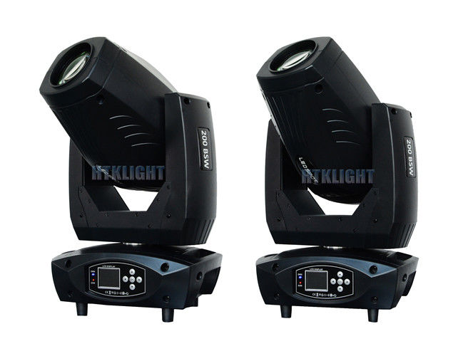 8500K LED Moving Head Beam Spot Wash 200W 3 in 1 50000 Hours Lifespan