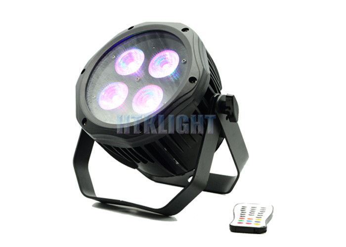 Battery Powered Wireless DMX LED Lights For Wedding 45 Degree Beam Angle