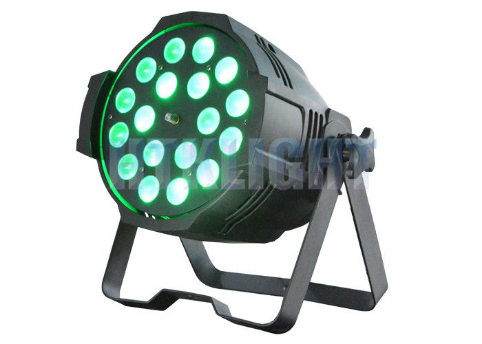 Dled Par Zoom 18x10Watt RGBW 4 In 1 Wall Wash Spot Lights With 15 Degree Beam Angle